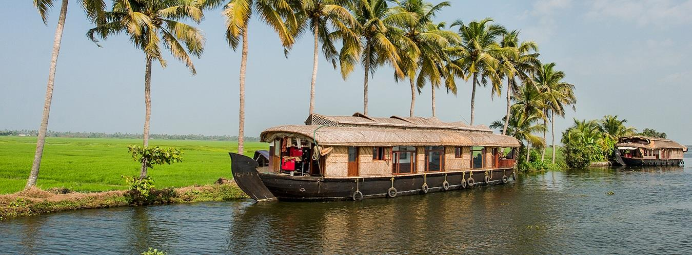 Amazing Munnar & Alleppey Tour Package