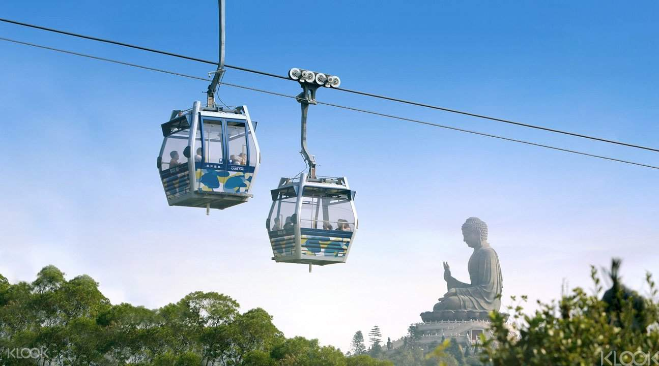 Hong kong with Lantau island 360 Cable car