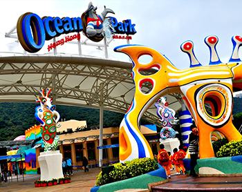 Visit Ocean Park, one of the largest oceanariums in the world which features aquariums, dolphin shows and of course, the giant pandas. (Upon reservation you can choose to either to have RETURN Hotel Transfer Journey or SINGLE Hotel to Ocean Park Transfer Journey).Ocean Park is one of the largest oceanariums in the world and the largest of its kind in S.E. Asia with an area of 870,000 square metres. It features aquariums, dolphin shows, thrilling rides, Asia...Transportation by coach, entrance to Ocean Park and Middle Kingdom, tour of jewellery factory and services of a local guide.