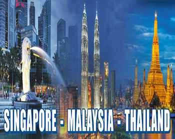 Awesome Singapore & Malaysia & Thailand Tour Package