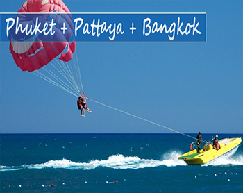 Family Pack Phuket- Pattaya -Bangkok (7 Nights)
